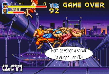 Final Fight... una vez más... ahora en CD...