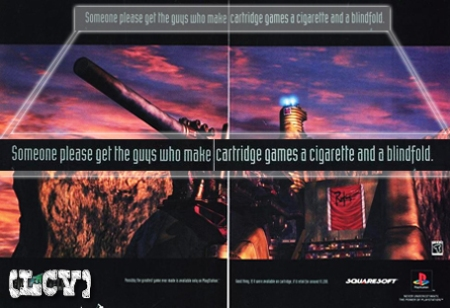 Square fue MUY claro en la campaña Pro-CD