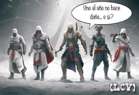 Assassins Creed. Tan seguro como la muerte y los impuestos.