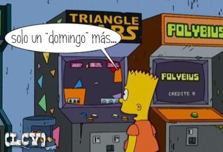 Tan famoso fue el boom, que hasta Bart cayó...