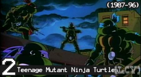 Los años ochenta, la era de los Ninjas... y Mutantes... y PUM! fórmula ganadora.