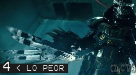 Shredder resultó ser lo que pasa cuando Iron Man se cruza con una navaja suiza. Literal.