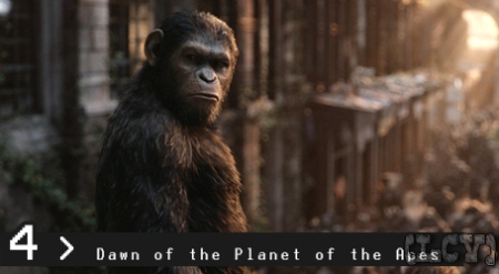 Algo está demasiado bien cuando un simio transmite más emociones y me conecta más que los humanos de la película.