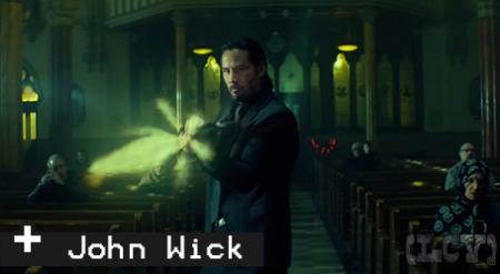 Keanu partiendo traseros de manera convincente. Incluso hizo sus propias escenas de acción.